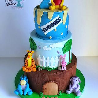 Winnie the pooh cake - Cake by ZahraAlkholy
