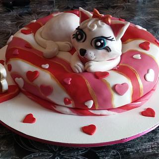 Cat cake - Cake by Zoca