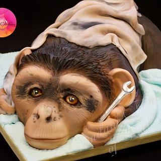 Grease monkey cake