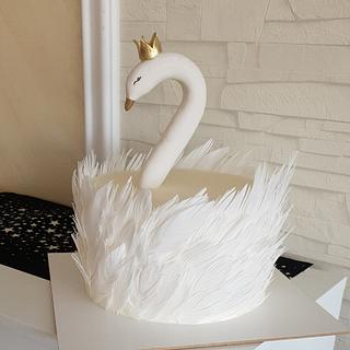 Swan cake - Cake by Prodiceva