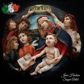Madonna del Magnificat - Sandro Botticelli - Italian Sugar Dream Collaboration