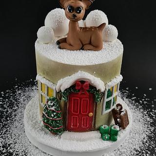 Christmas cake  - Cake by Pat