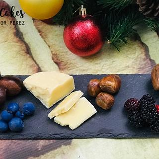 Hyper-realistic Cheese, Fruits and Nuts