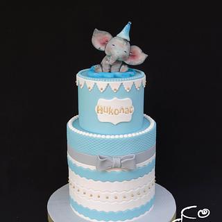 Baby elephant - Cake by Diana