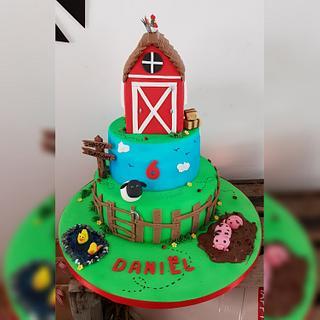 Farm cake - Cake by Fab-Feest