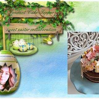 Sweet easter collaboration 2017 - Cake by s