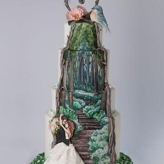 The stairway of Love - Cake by Cortellino Carla