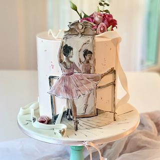Ballerina - Cake by SWEET architect