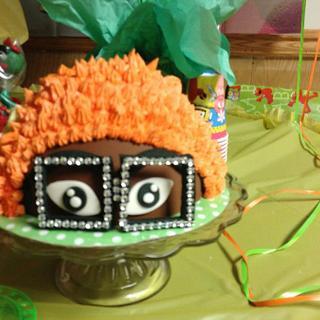 yo Gabba Gabba three tier cake
