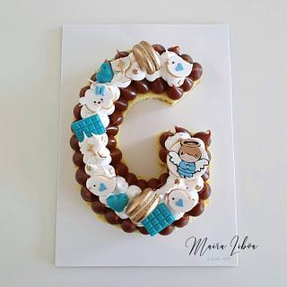 Baptism - Cake by Maira Liboa