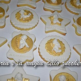 Angels cherub cookies