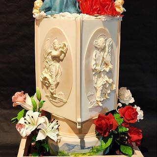 Incoronazione della vergine - Raffaello Sanzio - Cake by Melissa Ramirez