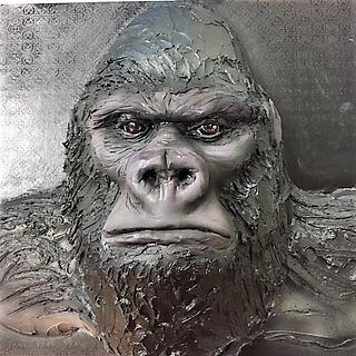 Male Silver-back Gorilla Cake