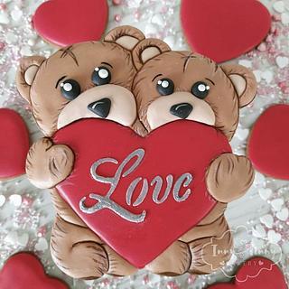 Bears love - Cake by Inny Tinny