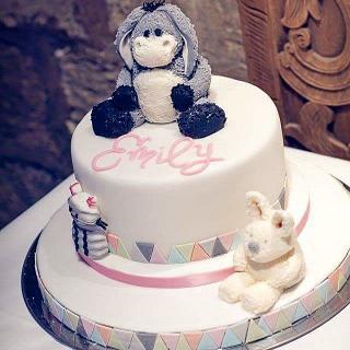 Christening cake - Cake by Rachel Nickson