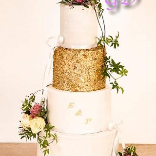 Wedding cake - Cake by Glorydiamond