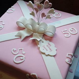 present cake x