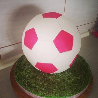 Football cake - Cake by Tortalie