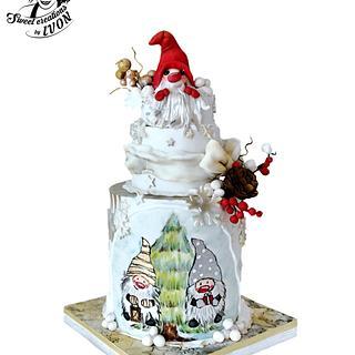 Christmas Dwarf - Cake by Ivon