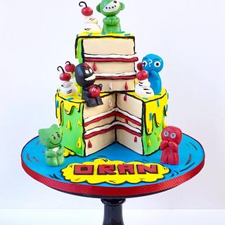 Cartoon Gogos cake