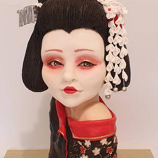 my Japanese geisha - Cake by Netta