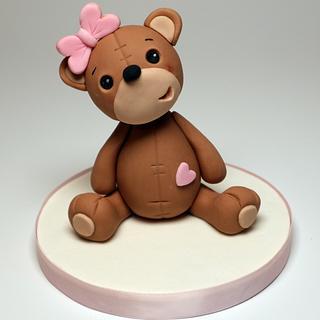 Sweet Bear Cake Topper - Cake by becia