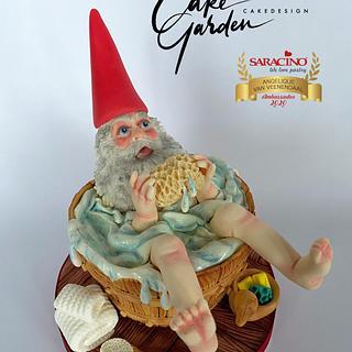 David the gnome - Cake by Cake Garden