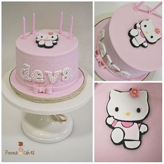 Hello Kitty 2D cake