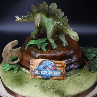 Stegosauro cake  - Cake by Arianna