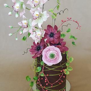 The flower pot.