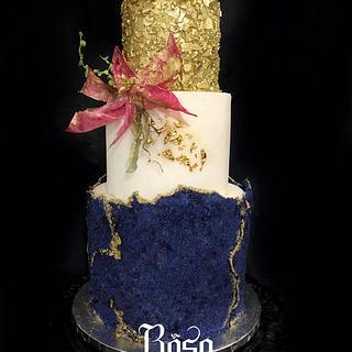 Sugar sheet cake - Cake by Rosa Cardeña