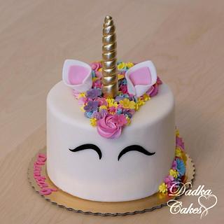 Unicorn cake - Cake by Dadka Cakes