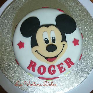 Mickey Mouse cake - Cake by Andrea - La Ventana Dulce