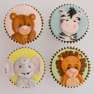Baby Safari Cupcakes