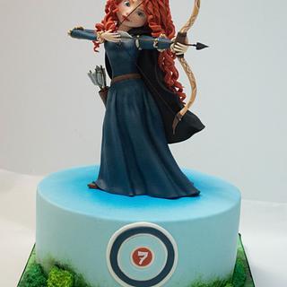 brave cake - Cake by Soraia Amorim