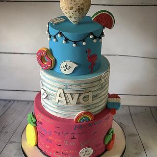 Love island cake  - Cake by Maria-Louise Cakes
