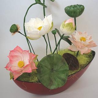 Lotus ❤️ - Cake by Erika Amelia Ersek