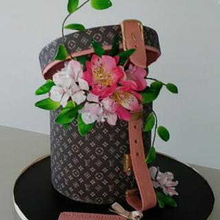 Louis Vuittan bday cake - Cake by Bistra Dean