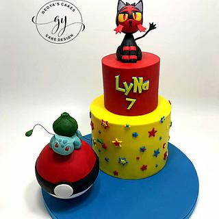Pokemon Cake - Cake by GeoYa's cakes