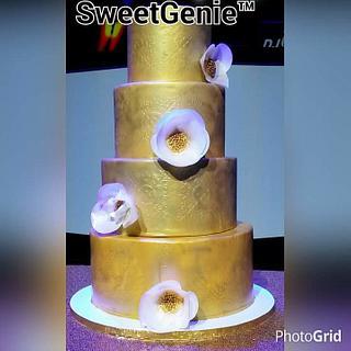 A 40th anniversary cake