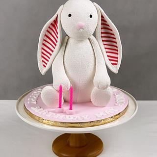 Jellycat Bunny cake - Cake by Lulu Goh