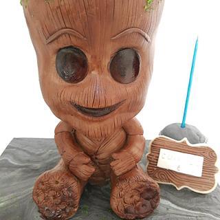 Groot - Cake by MEC by Mery Alvarez