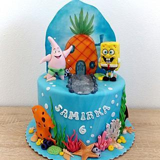 SpongeBob - Cake by Mischell