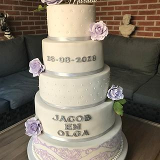 Second weddingcake