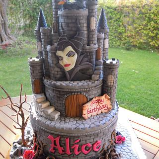 Torta Maleficent - Maleficent cake