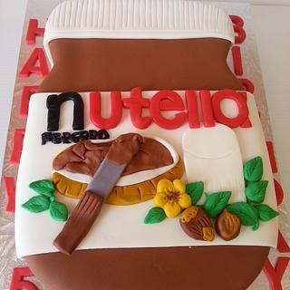 NUTTELA CAKE - Cake by Eva Christina Cakes