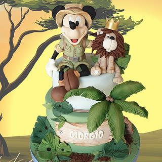 Mickey Mouse Safari
