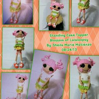 """Blossom Flowerpot """"Lalaloopsy"""" Cake Toppers"""