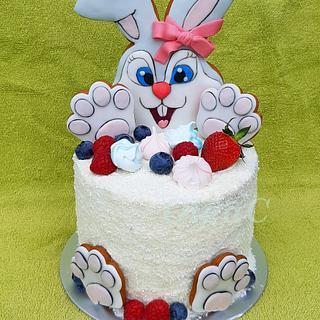 Rabbit - Cake by OlgaC