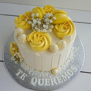 Lemon layer cake - Cake by Pat